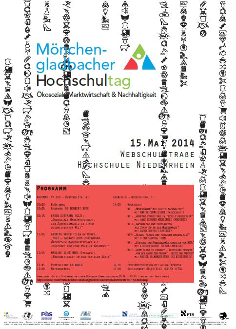 Hochschultage Moenchengladbach Plakat