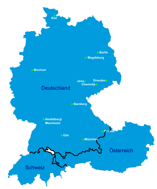 Karte Übersicht 2015