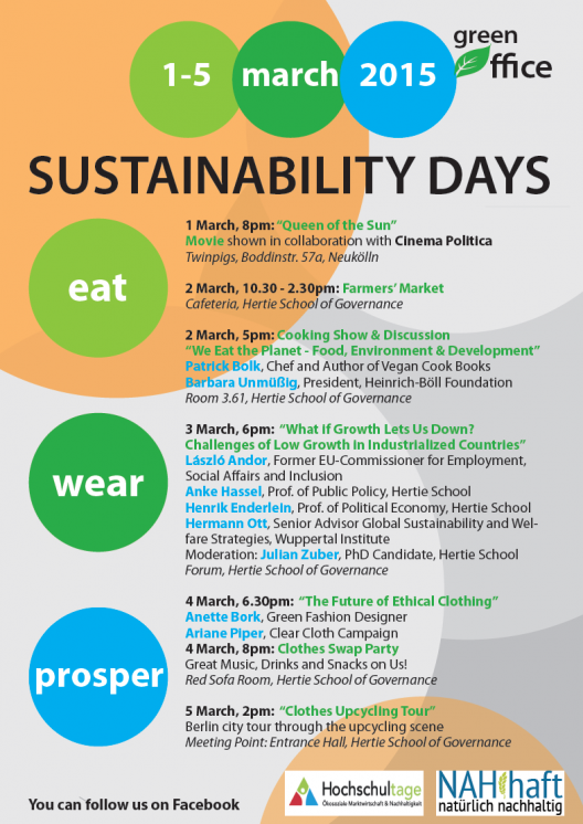Sustainability Days 2015